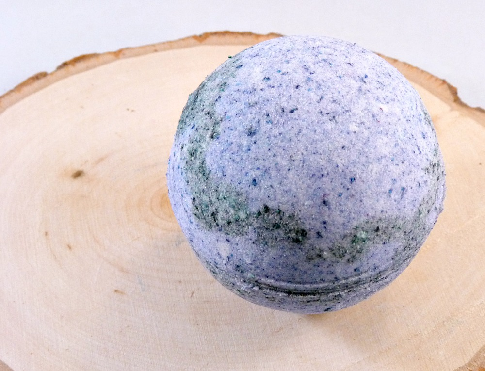 Bath Bomb - Blackberry Passion Bath Bomb with Marula Oil - Limited Edition Scent