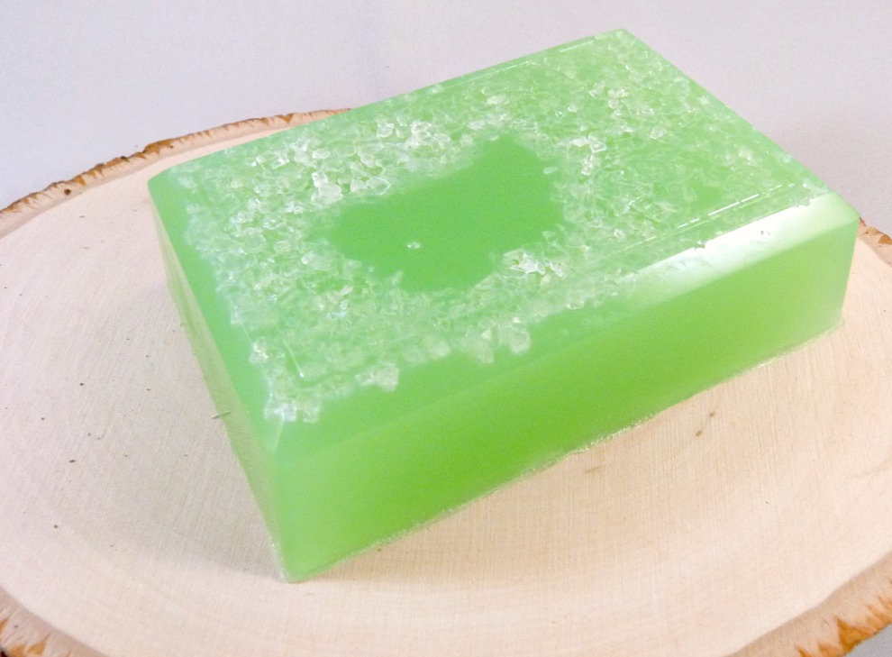 Sea Salt Soap, Margarita Soap with Sea Salt, Salt Bar