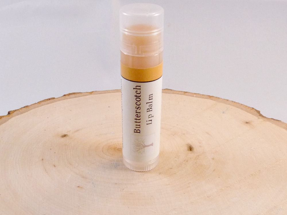 Lip Balm, Butterscotch Lip Balm